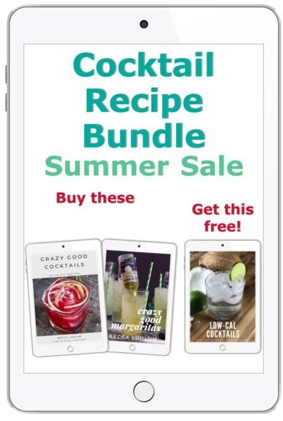 Cocktail recipe bundle