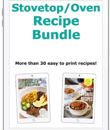 Oven and stovetop recipe bundle