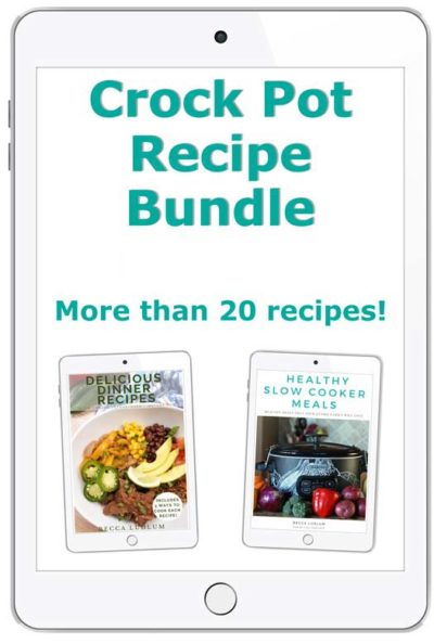 Crock pot recipe bundle