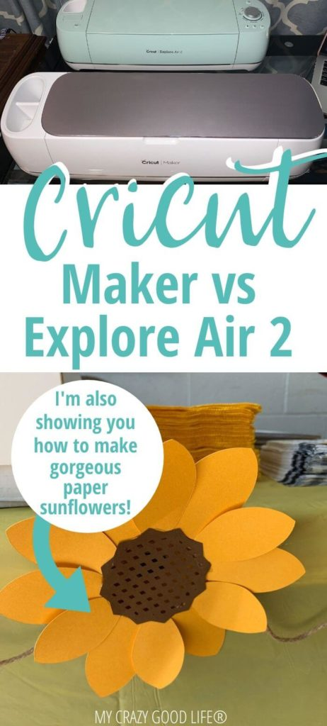 pin for cricut maker vs cricut explore air 2 post