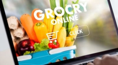 Online grocery ordering site.