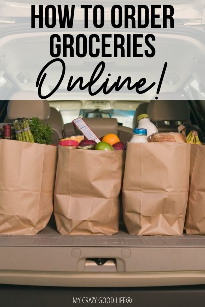 Pin for how to order groceries online.