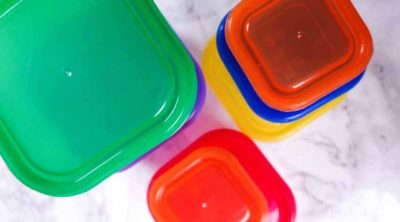 21 day fix colored containers on the counter