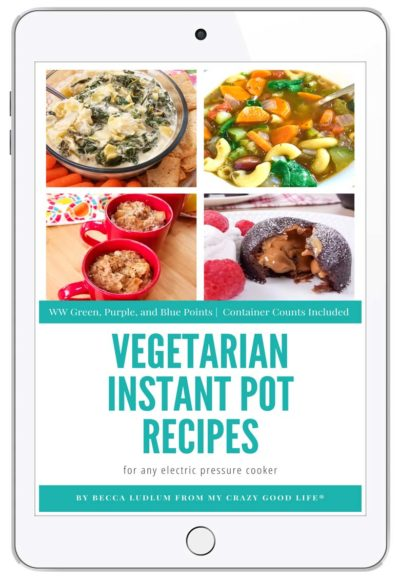 ipad cover for vegetarian instant pot recipes