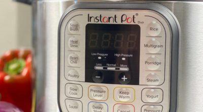Instant Pot control panel