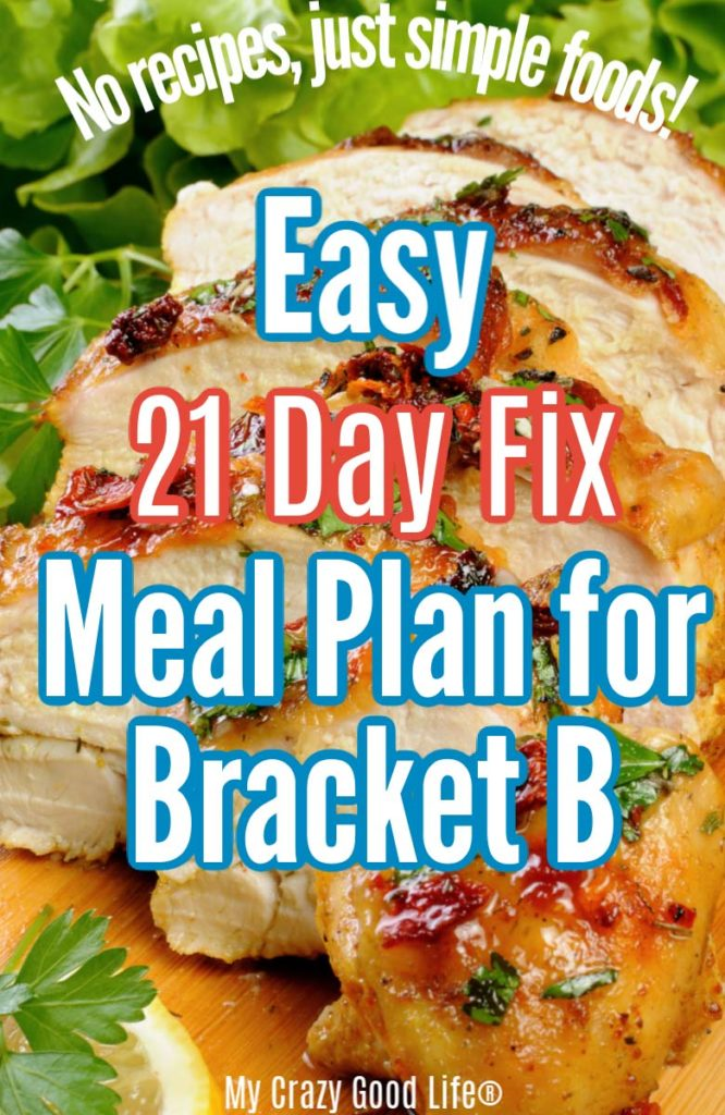 image of 21 day fix grilled chicken with text for pinterest