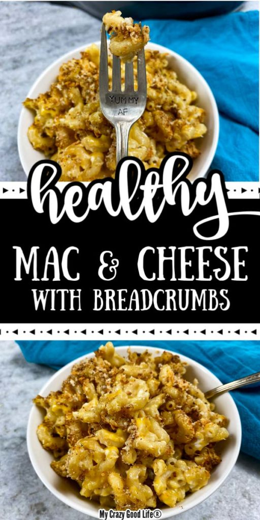 image with text for pinterest, pics of mac and cheese