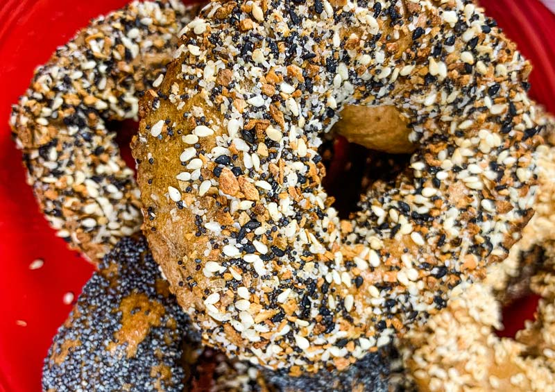 homemade bagels in the instant pot