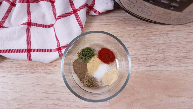 spices needed for instant pot turkey breast
