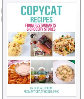 Copycat Recipes ebook on an iPad