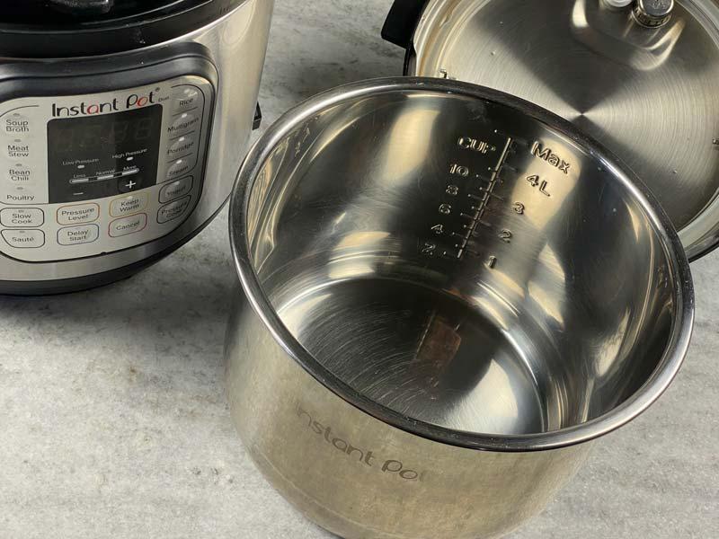 inner liner of instant pot