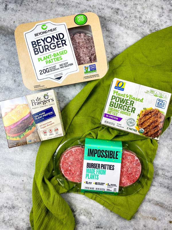 plant based meat substitutes