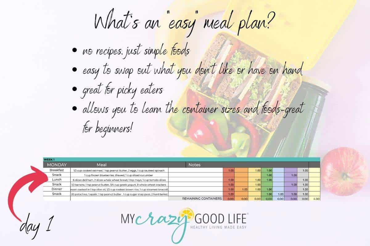 reasons why an easy meal plan might be for you
