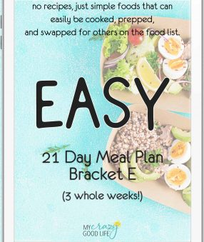 ipad cover for simple 21 day meal plan E