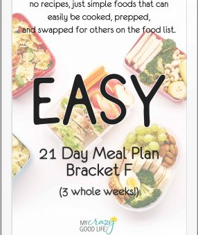ipad cover of 21 day meal plan f